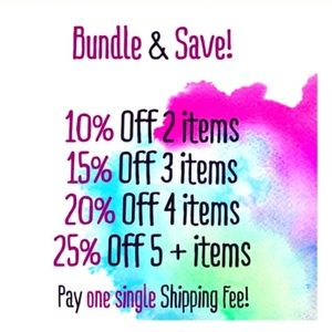Bundle & Save! Accepting offers now!